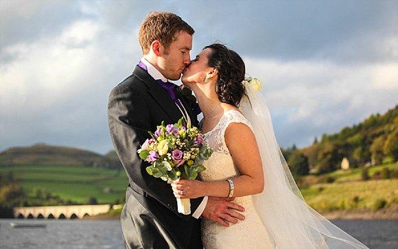 cadbury classic. a wedding in the peak district – natalie and joe
