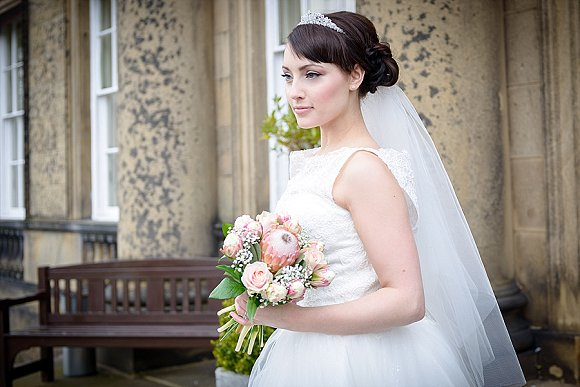 a styled bridal shoot at Denton Hall (c) Sugarbird Photography (21)