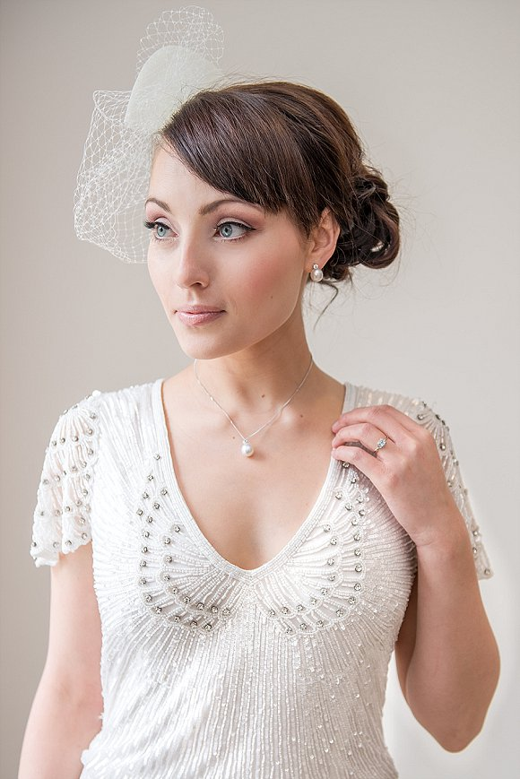 a styled bridal shoot at Denton Hall (c) Sugarbird Photography (27)