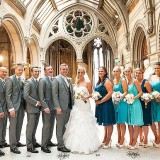 a summer wedding at Manchester Town Hall (c) Victoria Franks Photography  (16)