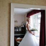 a tkmaxx wedding dress for a wedding in east yorkshire (c) Walker & Walker Photography  (10)