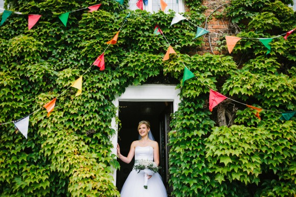 a tkmaxx wedding dress for a wedding in east yorkshire (c) Walker & Walker Photography  (21)