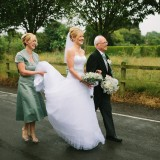 a tkmaxx wedding dress for a wedding in east yorkshire (c) Walker & Walker Photography  (24)