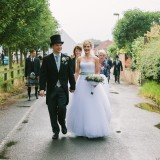 a tkmaxx wedding dress for a wedding in east yorkshire (c) Walker & Walker Photography  (32)