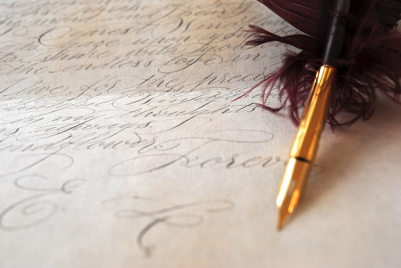 Calligraphy 4 vintage love letter (4)