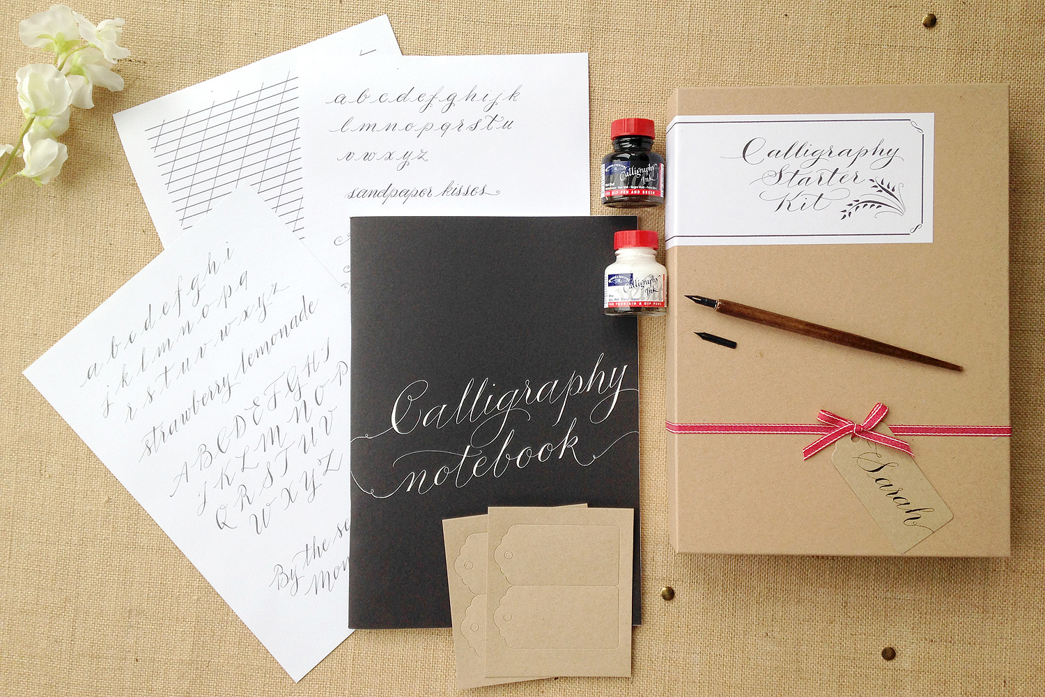 Written in the stars supplier showcase calligraphy for