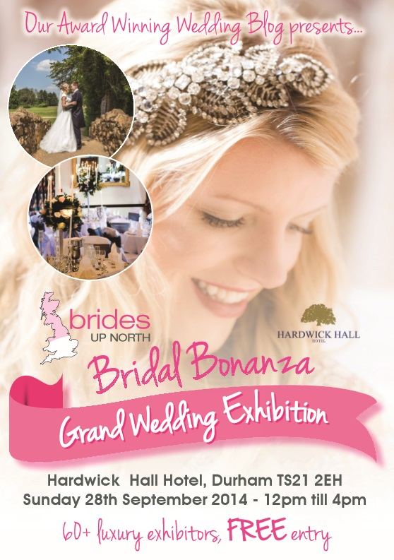 Hardwick Hall Bridal Bonanza Grand Wedding Exhibition Autumn 2014