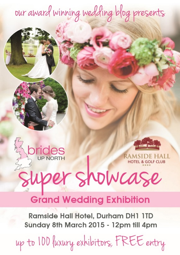 Ramside Hall Luxury Wedding Exhibition Spring 2015