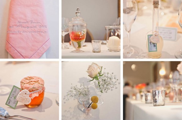 a crafty coral wedding in Derbyshire (c) Kate Cooper Photography  (34)