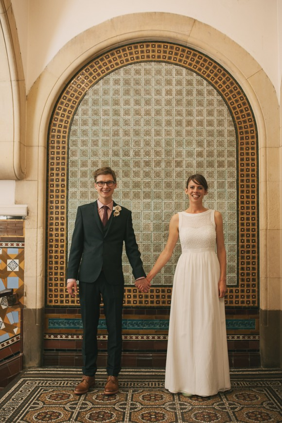 a vintage travel wedding at Leeds Club (c) Mark Dolby Photography (10)
