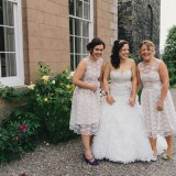 vintage lace for a lively Lake District wedding (c) James Stewart Photography (16)