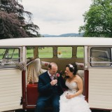 vintage lace for a lively Lake District wedding (c) James Stewart Photography (29)
