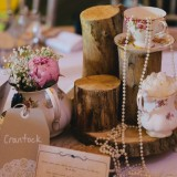 vintage lace for a lively Lake District wedding (c) James Stewart Photography (42)