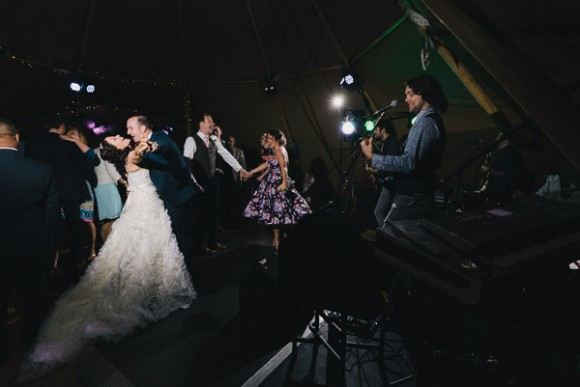 vintage lace for a lively Lake District wedding (c) James Stewart Photography (60)