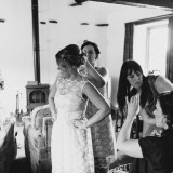 vintage lace for a lively Lake District wedding (c) James Stewart Photography (7)
