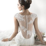 Savannah Marie close up - Maggie Sottero
