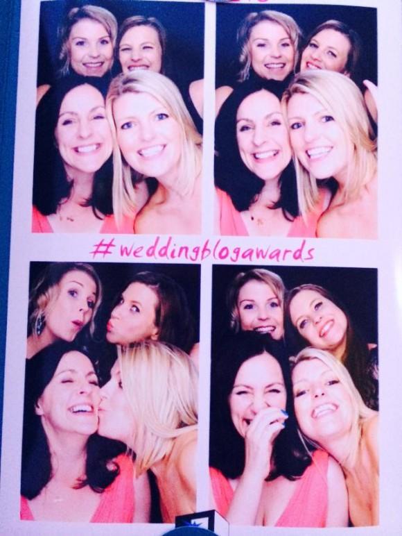 Wedding Blog Awards 2014 Photobooth