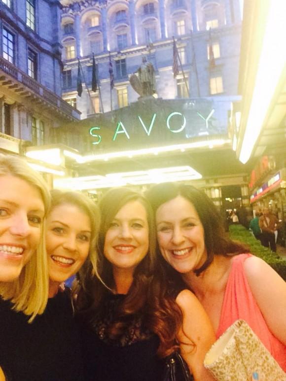 Wedding Blog Awards 2014 at the Savoy