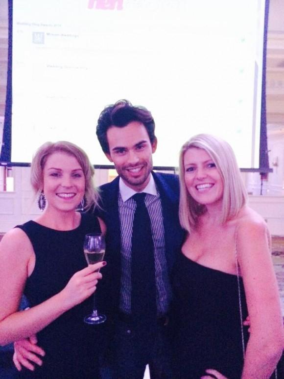 Wedding Blog Awards 2014 with Mark Francis