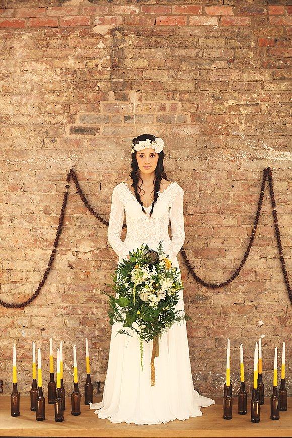 a diary date for the botanical bride: White Memoirs