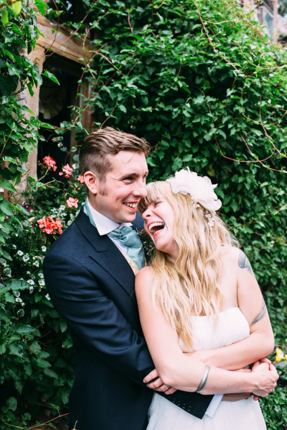 flowers in her hair. a relaxed wedding at Lumley Castle – kate & mike