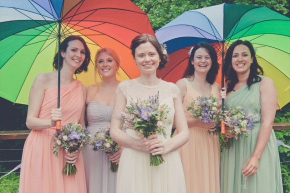 blooms & bunting. a colourful barn wedding in Sheffield – mary & howie