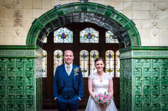 a pretty wedding at victoria baths (c) James Tracey Photography (32)