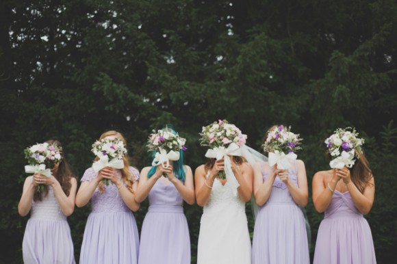 an outdoor wedding with pretty pastels at Saltmarshe Hall (c) Everthine Photography (46)