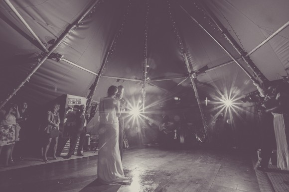 a cute tipi wedding with pale blue details (c) Hayley Baxter Photography (60)