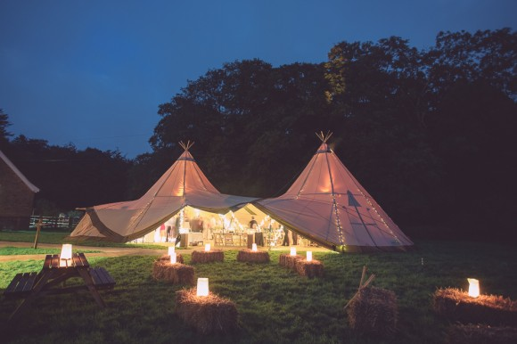 a cute tipi wedding with pale blue details (c) Hayley Baxter Photography (66)