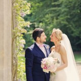 a romatic pastel wedding at Eshott Hall (c) Helen Russell Photography  (110)