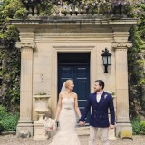 a romatic pastel wedding at Eshott Hall (c) Helen Russell Photography  (120)