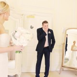a romatic pastel wedding at Eshott Hall (c) Helen Russell Photography  (37)