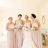 a romatic pastel wedding at Eshott Hall (c) Helen Russell Photography  (39)