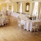 a romatic pastel wedding at Eshott Hall (c) Helen Russell Photography  (85)