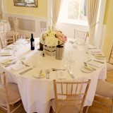 a romatic pastel wedding at Eshott Hall (c) Helen Russell Photography  (87)