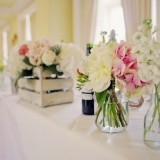 a romatic pastel wedding at Eshott Hall (c) Helen Russell Photography  (90)