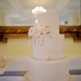 a romatic pastel wedding at Eshott Hall (c) Helen Russell Photography  (93)