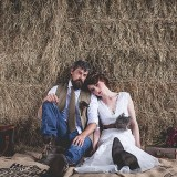 tweed & country styled bridal shoot at Owen House Wedding Barn (c)  Mr & Mrs W (12)