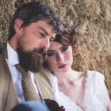 tweed & country styled bridal shoot at Owen House Wedding Barn (c)  Mr & Mrs W (13)
