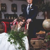 tweed & country styled bridal shoot at Owen House Wedding Barn (c)  Mr & Mrs W (15)