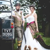 tweed & country styled bridal shoot at Owen House Wedding Barn (c)  Mr & Mrs W (4)