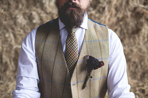 tweed & country styled bridal shoot at Owen House Wedding Barn (c)  Mr & Mrs W (7)