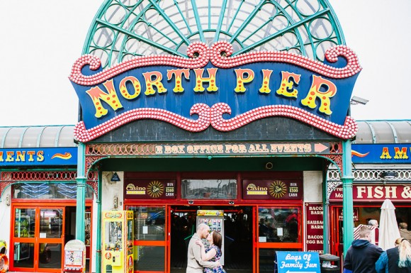merry & bright. an engagement at north pier – sally & stephen