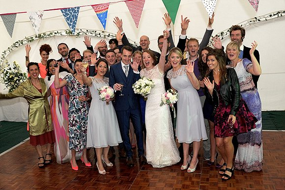 a garden wedding at Mill Granary Cottages (c) Camera A Photography (37)