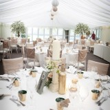 a garden wedding at The Inn At Whitewell (c) Niki Mills Photography (37)