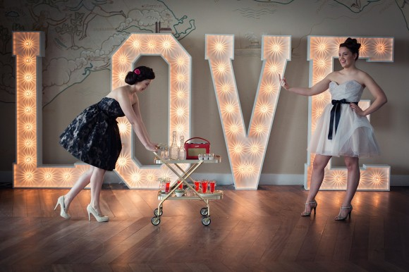 big love. a retro styled shoot at The Midland, Morecambe