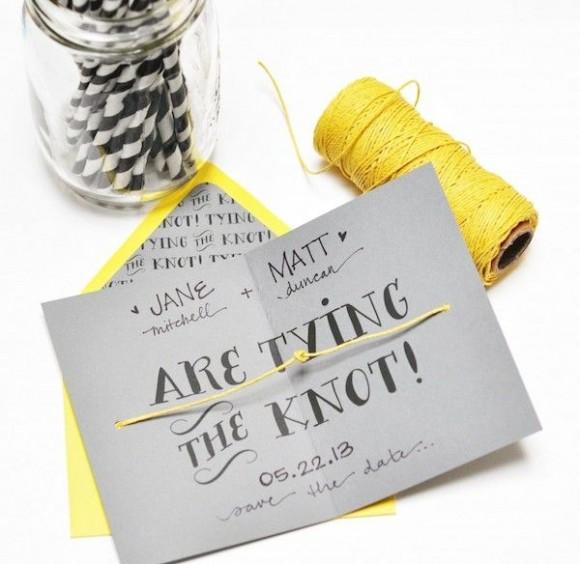 a wedding alphabet. invitations