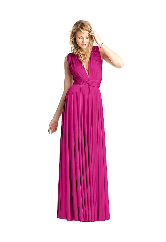 Fuschia twobird dress