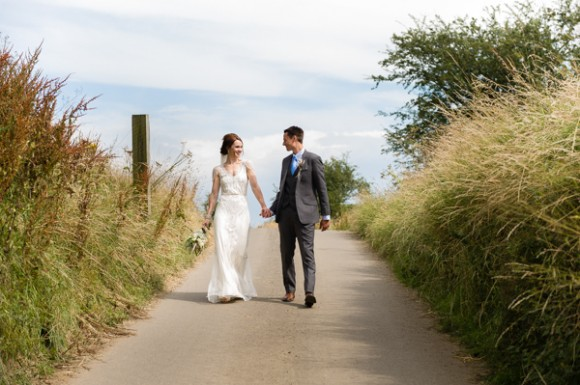pretty perfection. jenny packham for a wedding at danby castle – chloe & dan